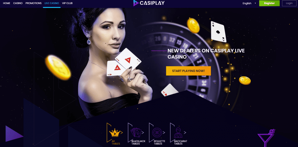 Casiplay Live Casino Canada