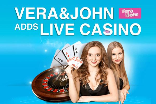 Vera john live casino Canada