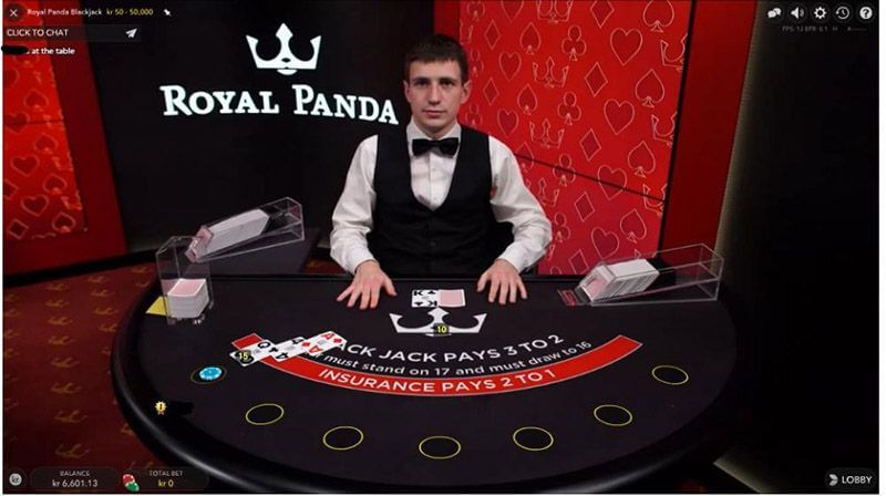 Royal Panda Live Casino Canada