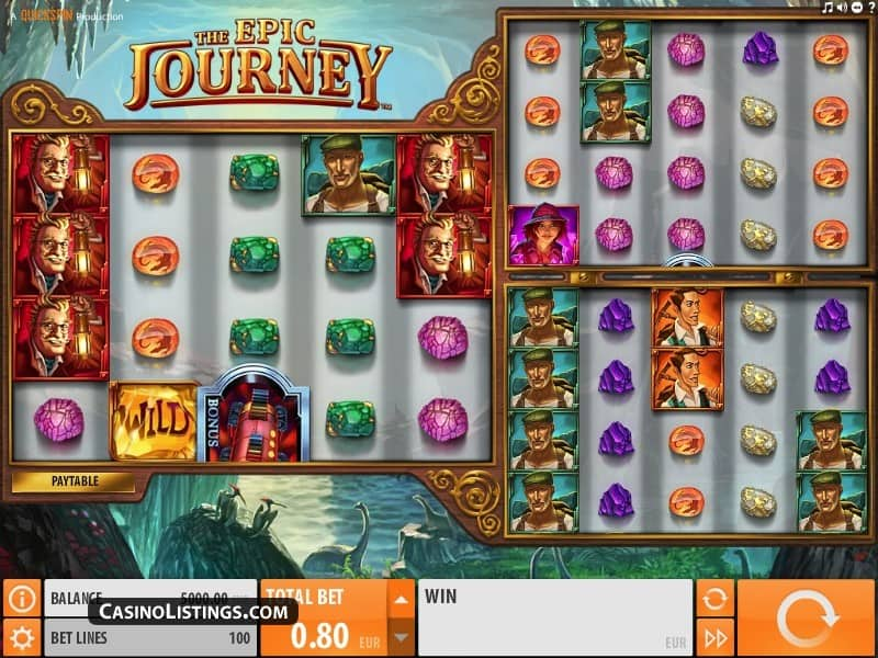 epic journey slot game