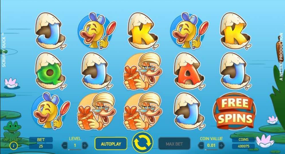 scruffy duck slot game