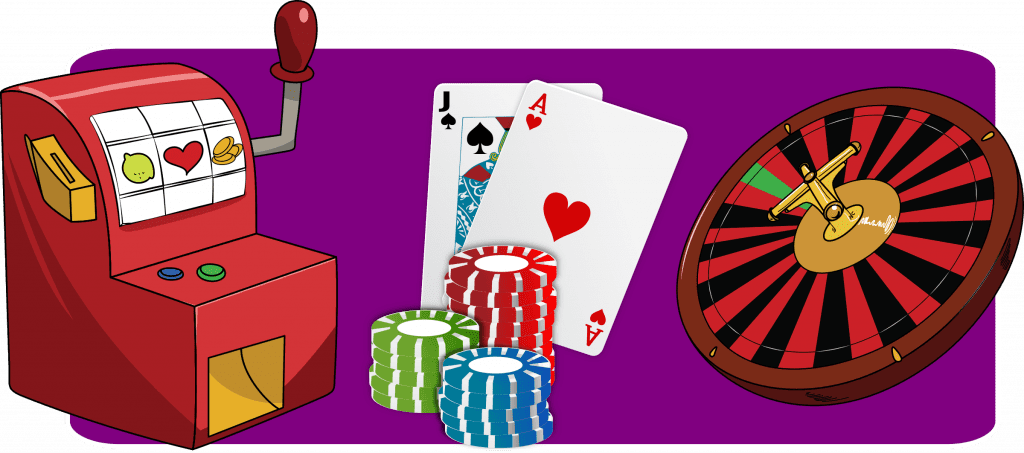 Casino - tecknad ok