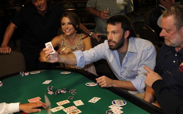 ben affleck playing blackjack